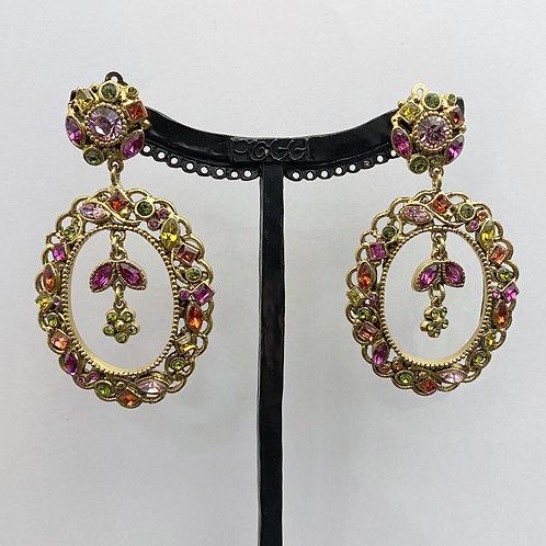 Boucles d'oreilles KIF 5 D/Rose