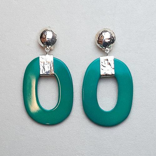 Boucles d'oreilles ART 0240 A/Turquoise