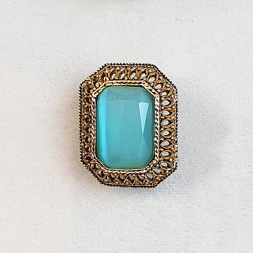 Bague GLAM 611 D/Turquoise