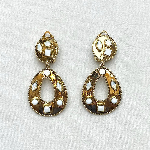 Boucles d'oreilles HIT 12 D/Cristal