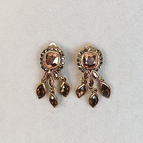 Boucles d'oreilles PAM 35 D/Metallic Gold