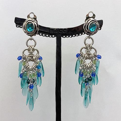 Boucles d'oreilles JOA 56 A/Light Turquoise