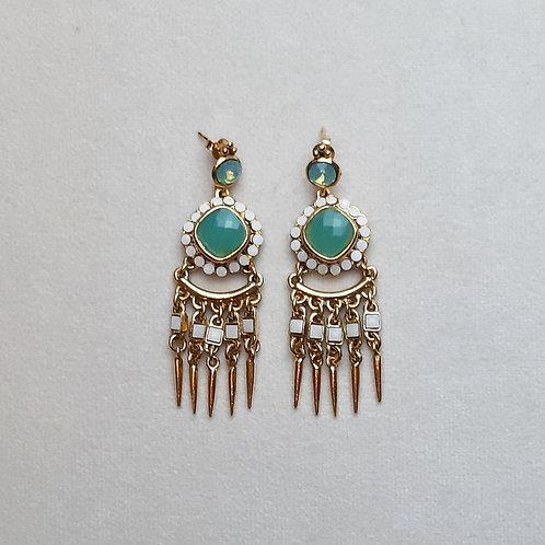 Boucles d'oreilles PAM 42 D/Jade