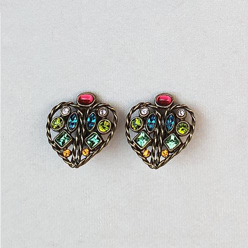 Boucles d'oreilles FLO 31 B/Anis
