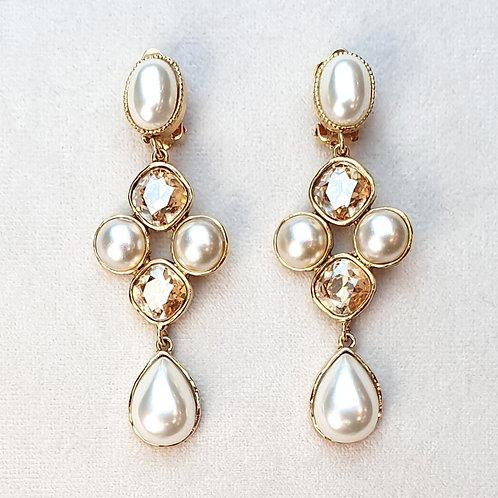 Boucles d'oreilles STON 11 D/Perle