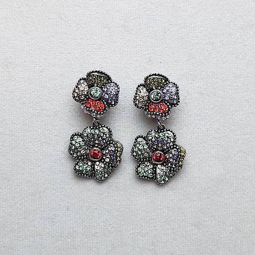 Boucles d'oreilles LUX 5 A/Multi Chrysolite