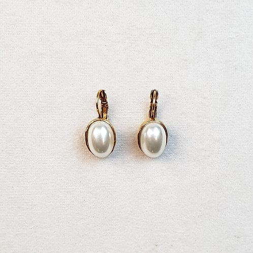 Boucles d'oreilles STON 3 D/Perle