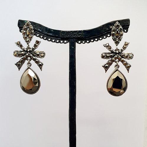 Boucles d'oreilles BAL SR A/Metallic Gold