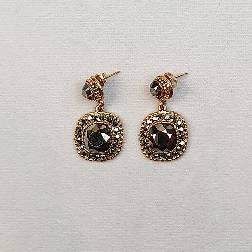 Boucles d'oreilles ODE 80 D/Metallic Gold