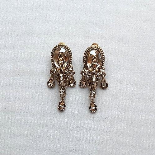 Boucles d'oreilles LUM 3 D/Golden