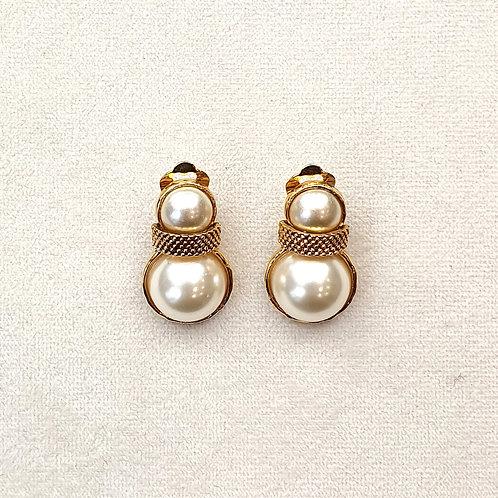 Boucles d'oreilles STON 14 D/Perle