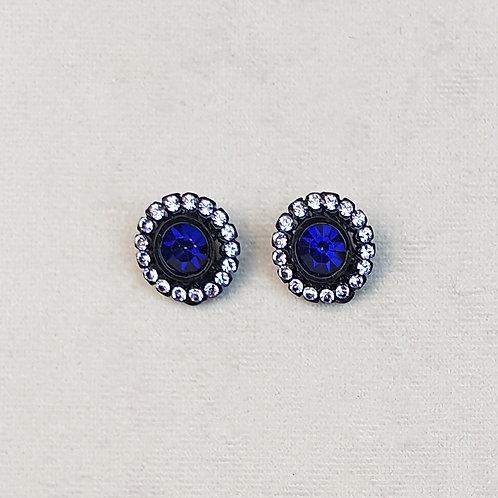 Boucles d'oreilles BAL 51 N/Bleu