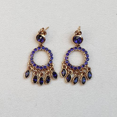 Boucles d'oreilles PAM 26 D/Violet