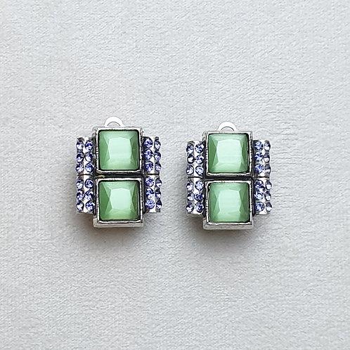 Boucles d'oreilles  DEC 1 A/Jade