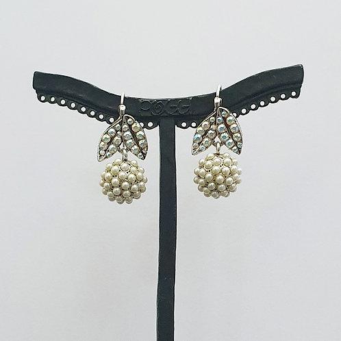 Boucles d'oreilles FRU 29 A/Perle