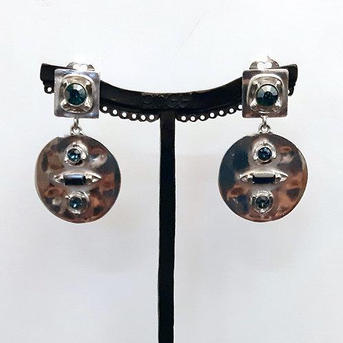 Boucles d'oreilles GIN 1 A/Montana