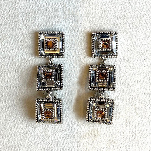 Boucles d'oreilles VOG 21 A/Bronze Shade