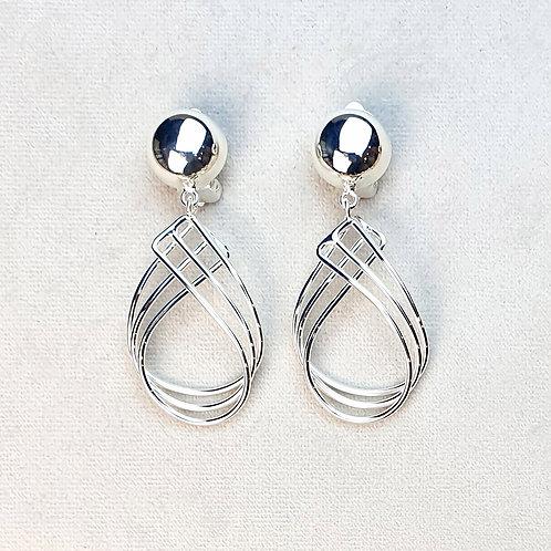Boucles d'oreilles ART 0281 Argent