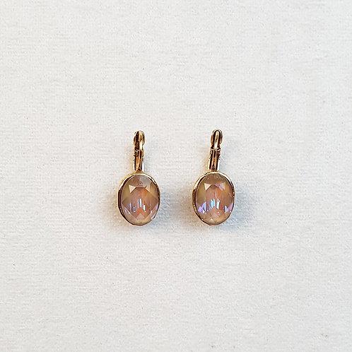 Boucles d'oreilles STON 3 D/Cappuccino