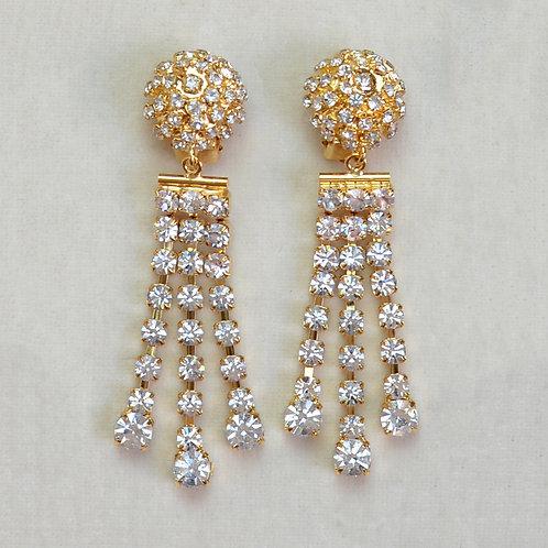 Boucles d'oreilles ART 994 D/Cristal