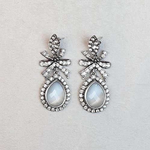 Boucles d'oreilles BAL 25 A/Cristal