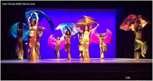 Hart House Belly dance online classes privates choreography performer entertainment