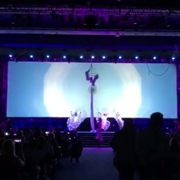 'twas truly enchanting choreographing th