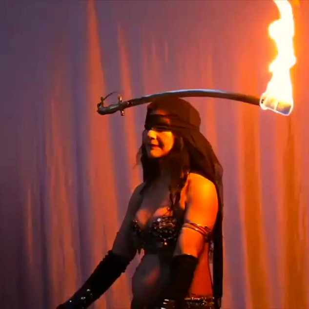 Playing with fire #firesword #firedancer