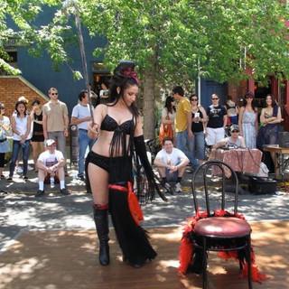 Kensington Chair dance Belly dance online classes privates choreography performer entertainment