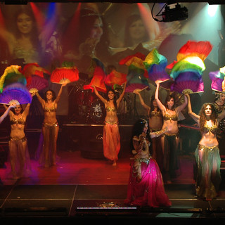 Mod Club Belly dance online classes privates choreography performer entertainment Inanna