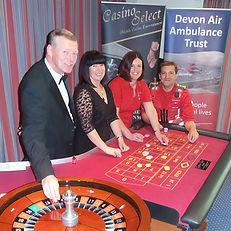 Casino Select supporting Devon Air Ambul