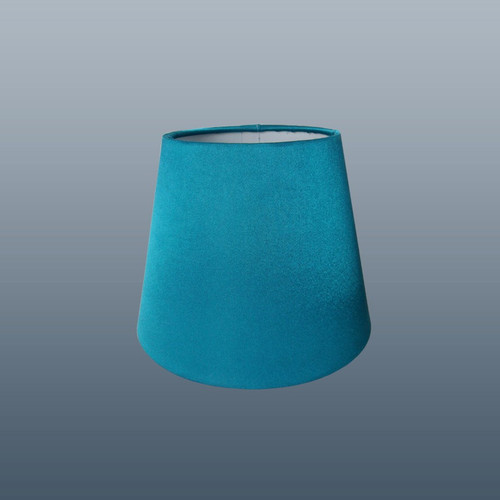 Purple lantern devon wall light shades 6 silk effect clip on wall light shade in teal aloadofball Image collections