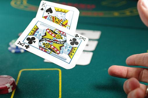 Poker game in Tiverton