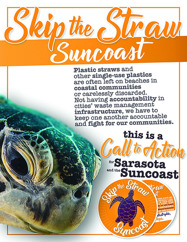 Skip the Straw Suncoast - Media Kit Page