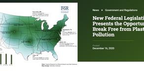 NEW Federal Legislation on Plastics!