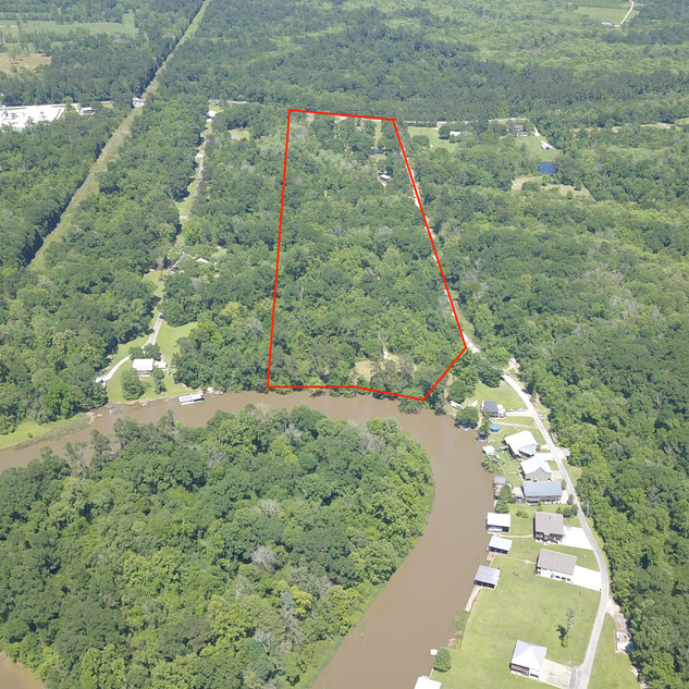 Amite River Acreage with Tiny Home