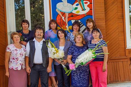 Преподаватели Краснощековской ДШИ