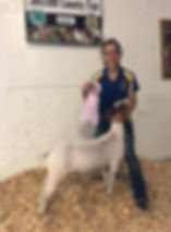 res cahmp mkt goat Olmsted co FFA  Jojo