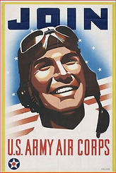 army air corp recruiting poster