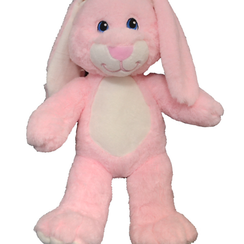 Pink Floppy Eared Bunny