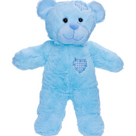 Baby Blue Patches Bear