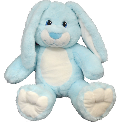 Blue Floppy Eared Bunny