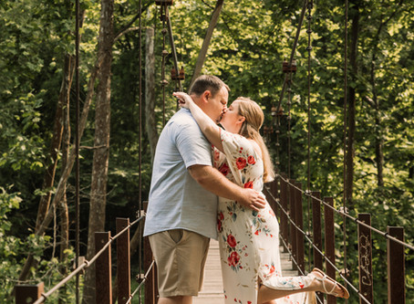 Engagement Session at Patapsco Valley State Park