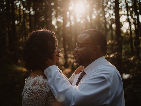 Magical Woodsy Elopement in Maryland