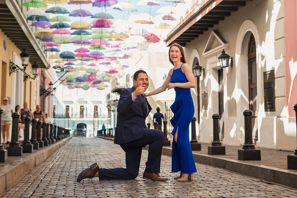 Surprise Proposal San Juan Puerto Rico