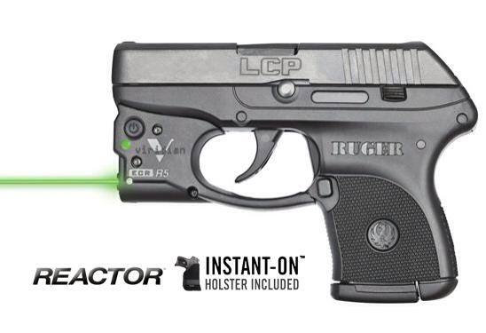 Ruger LCP .380 w/viridian laser