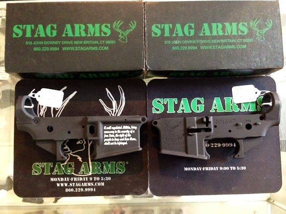 Stag 2nd amendment lower receivers