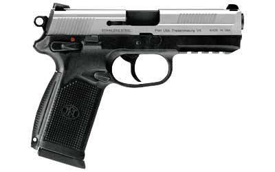FN-X .45 stainless slide