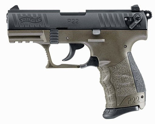 Walther p22 ODG .22LR