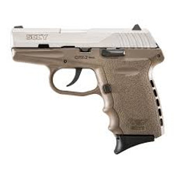 Sccy CPX2 9mm FDE/SS